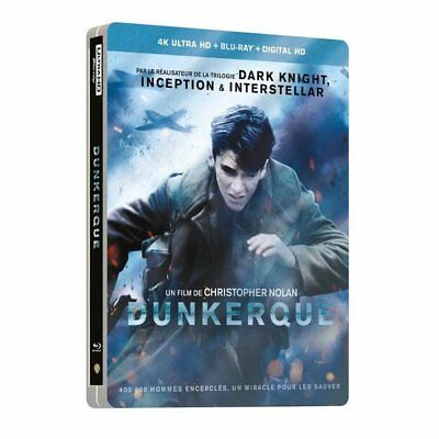 Blu-ray - Dunkerque - Édition Limitée SteelBook - 4K Ultra HD - Harry Styles, To