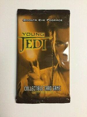 Star Wars Young Jedi TCG CCG Boonta Eve Podrace Booster Pack Decipher New!