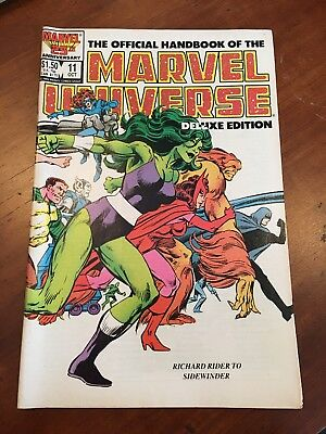 The Official Handbook Of The Marvel Universe Deluxe Edition #11 Oct