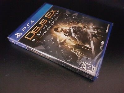 Deus Ex: Mankind Divided [Day One Edition] [PS4] [PlayStation 4] [Brand New!]