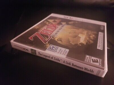 The Legend Of Zelda: A Link Between Worlds [3DS] [Brand New Factory Sealed!]