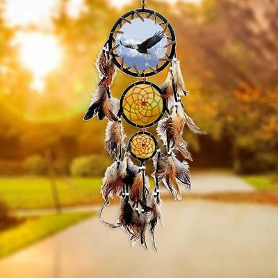 Handmade Dream Catcher Feathers Car Wall Hanging Decoration Ornament Gift USA