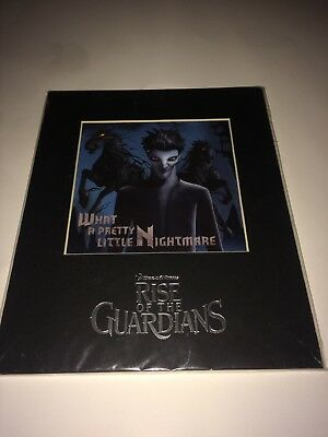 Rise of the Guardians Pitch Black DreamWorks Sanders Art Laser Cel Print Collect