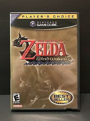 The Legend Of Zelda Wind Waker For Gamecube Complete Tested Works