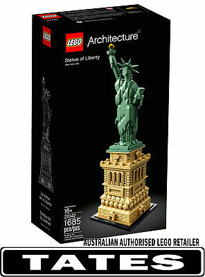 LEGO 21042 STATUE OF LIBERTY ARCHITECTURE from Tates Toyworld