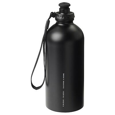 Limited Edition Spanst Stainless Steel Water Drink Bottle Black 500ml