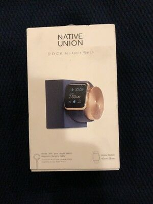 Native Union DOCK for Apple Watch Weighted Charging Dock with Rotating Arm..