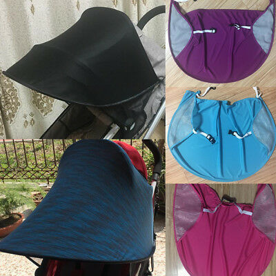 Universal Stroller Pram Sun Shade Baby Infant UV Protection Rays Cover Awning