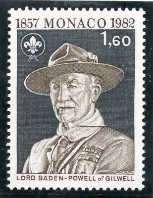 Stamp / Timbre De Monaco N° 1334 ** Lord Baden Powell / Mouvement Scout