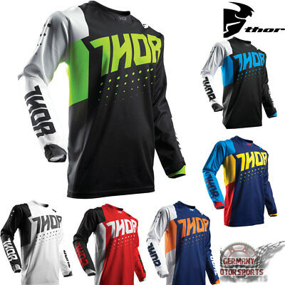 Thor Pulse Shirt Trikot Jersey Fahrrad BMX MTB Downhill Fussball Cross Team