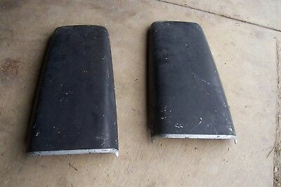 Mopar 1968 1970 Dodge Dart Super Bee Plymouth Duster OEM Duel Hood Scoops