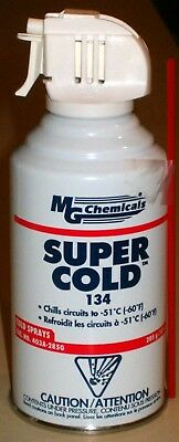 10 oz. Spray Can of SUPER COLD 134 Freeze Spray (MG Chemicals 403A-285G)