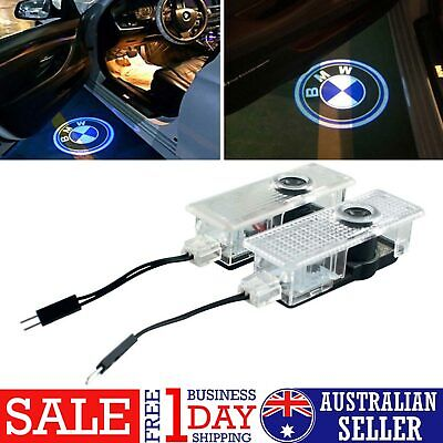 2x CREE LED Door For BMW Projector Courtesy Puddle Shadow Laser Light Logo Lamp
