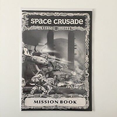 Mb Games Space Crusade Mission: Dreadnought Mission Book Games Workshop 1989