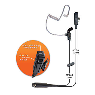 Klein Director 2-Wire Headset for Motorola Multi-Pin Radios