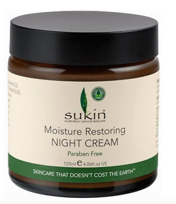 Sukin Moisture Restoring Night Cream - 120ml