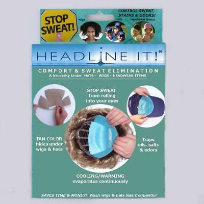 Headline It ! The ideal wig liners for comfort and sweat elimination- Hats, Wigs