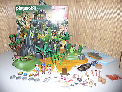 Playmobil 5134 Abenteuerinsel Komplett Mit Ovp Piraten Adventure