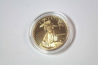 1989 (MCMLXXXIX) U.S. American Eagle One Ounce Gold Fifty Dollar Coin - $50