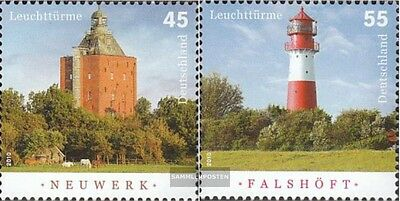 FRD (FR.Germany) 2800-2801 (complete issue) used 2010 Lighthous