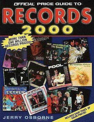 Official Price Guide to Records : 2000 Edition by Jerry Osborne