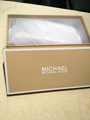 "Michael Kors EMPTY Shoe Box, 4""x6""x12.25"