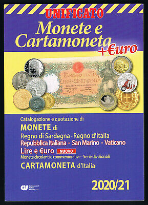 Unificato 2019-20 Catalogo Monete-Cartamoneta Italiana