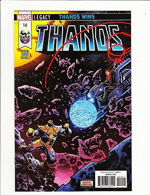 Thanos #14 1St Full Cosmic Ghost Rider Donny Cates 1St Print Ultra-Rare Htf