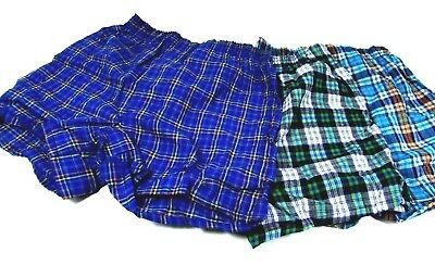 Fruit of the Loom Boys plaid Boxers