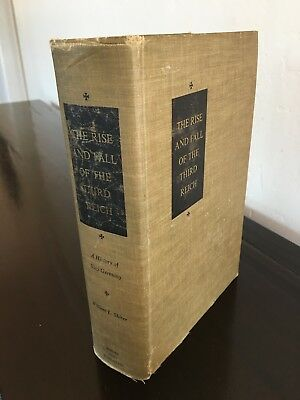The Rise and Fall of the Third Reich (First Edition Hardcover)