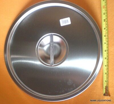 Vollrath 78672 Classic Stock Pot Dome Cover SS Fits 78600, 78610, 78620, 78650