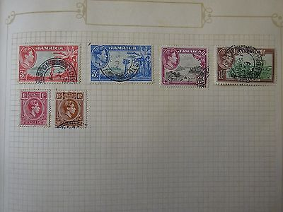 Assorted Jamaican Stamps