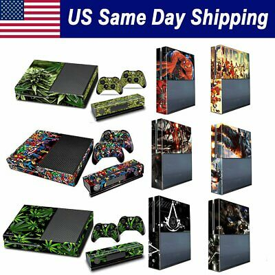 Vinyl Protective Skin Xbox One Console 2 Wireless Controller Cover Decal Sticker