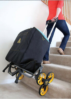 UpCart All-Terrain Stair Climbing Dollie Hand Cart Moves up to 100-pounds Dolly