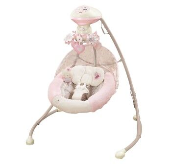 Fisher-Price My Little Sweetie Deluxe Cradle Swing