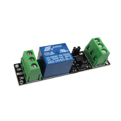 24V 1 Channel Optocoupler Isolation Relay Module Board High Level Trigger