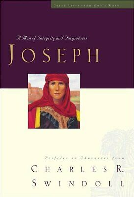 Joseph (Great lives from God's Word) by Swindoll, Charles R. Hardback Book The