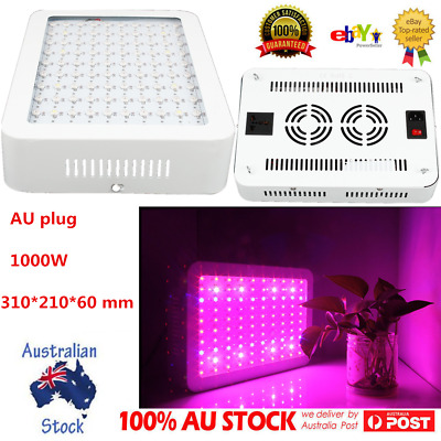 1000W LED Grow Light Hydro Medical Plants Veg Bloom Frui Full Spectrum Bulb OZ