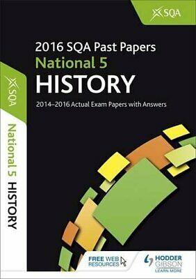 National 5 History 2016-17 SQA Past Papers with Answers by SQA Book The Cheap