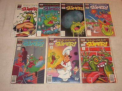 Slimer 1 2 4 6 7 8 10 Now Comics Vf!! Real Ghostbusters