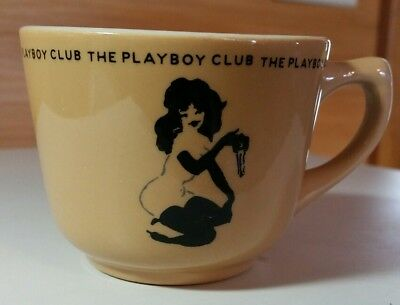 Playboy Club coffee cup mug by Sterling Vitrified China East Liverpool Ohio