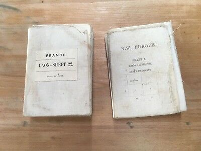 Britisches Kartenmaterial I WK 1 I FRANCE + NW EUROPE I