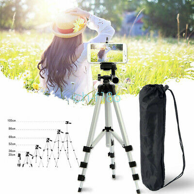 Portable Professional Camera Cell Phone Adjustable Tripod Stand Mount Holder
