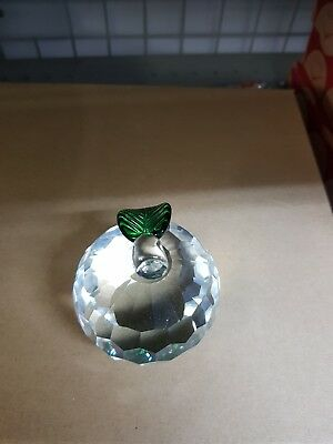 Beautiful apple paperweight
