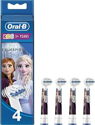 Oral-B Stages Kids Frozen Replacement Toothbrush Heads Powered by Braun - Pack o