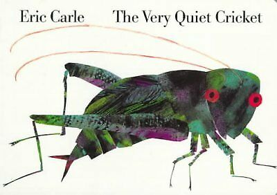 NEW - The Very Quiet Cricket Board Book by Carle, Eric
