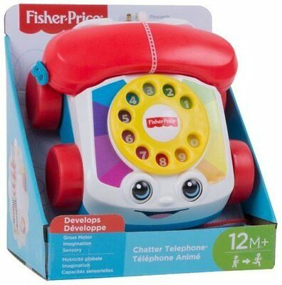 Fisher-Price Phone carita funny Mattel FGW66 The child can play sitting