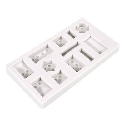 Practical Silicone DIY  Building Block Pastry Cake Mold Tray Kitchenware