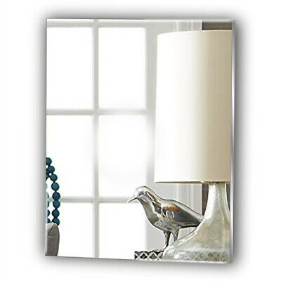 Wall RECTANGLE Acrylic Bathroom Mirror No Drilling Required Personalised 4 FREE