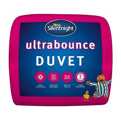 Silentnight Ultra Bounce Duvet / Quilt - 13.5 Tog - Single Double or King Size